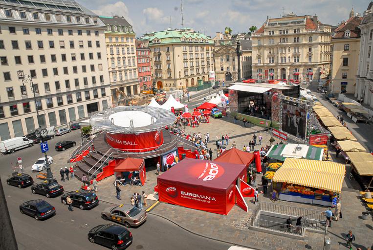 Austria - Österreich am Ball - Euromania Roadshow Am Hof Vienna