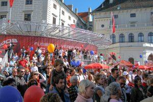 Austria - Österreich am Ball - Euromania Roadshow Ballhausplatz Vienna @Jo Aigner