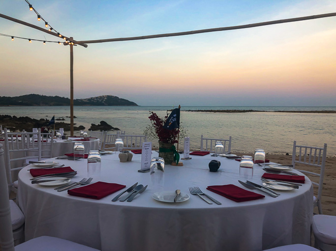 Thailand - Excellence Group - Welcome Dinner Set Up Koh Samui @Jo Aigner