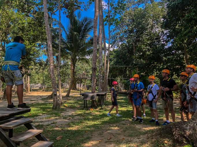 Thailand - Excellence Group - Zip Line Koh Samui @Jo Aigner