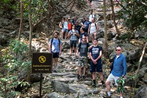 Thailand - Jack Daniels Group - Hiking To Phraya Nakhon Cave @Jo Aigner