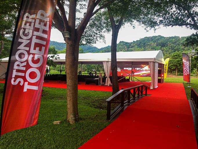 Thailand - Manitou Event - Product Presentation Area Phuket @Jo Aigner