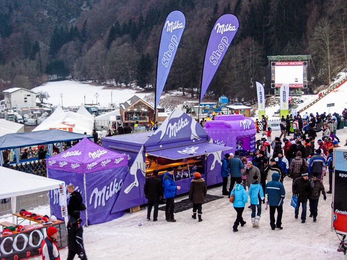 Austria - Milka - Promotion Vierschanzen Tournee Bischofshofen @Jo Aigner