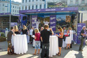 Austria - Milka - Truck Tour Mariahilfer Straße Vienna @Jo Aigner