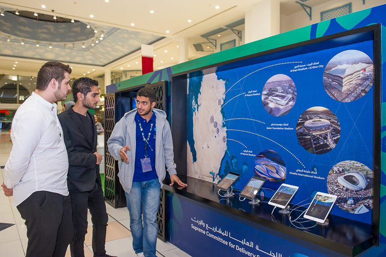 Qatar - Supreme Committee Of Delivery And Legacy - Promotion Roadshow For World Cup 2022