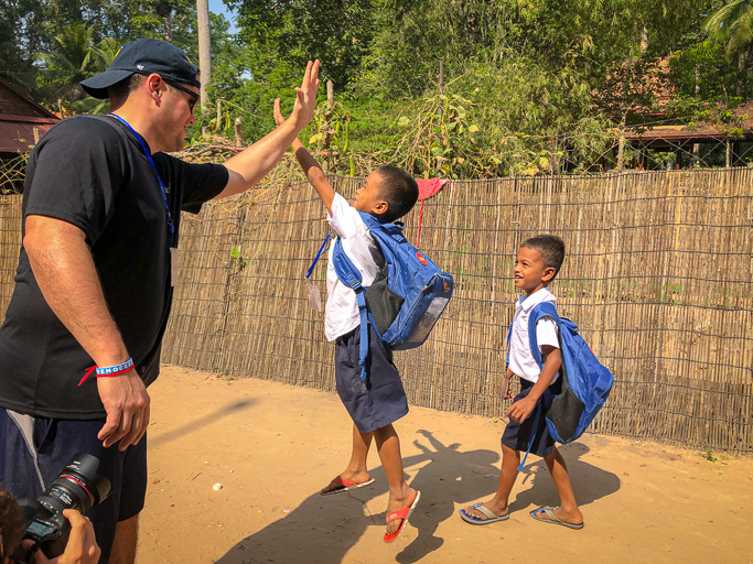 Cambodia - Skjodt Family Trip - École de Bayon NGO @Jo Aigner