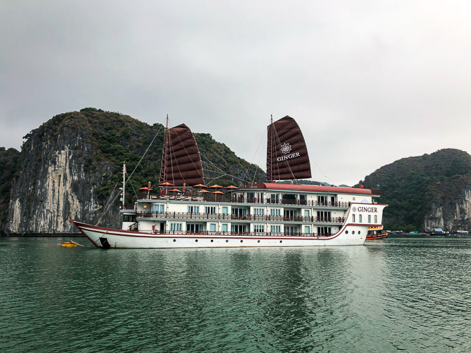 Vietnam - Skjodt Family Trip - Halong Ginger Cruise - exclusive hire @Jo Aigner