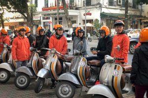 Vietnam - Skjodt Family Trip - Vespa Tour Hanoi @Jo Aigner