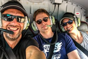 Cambodia - Skjodt Family Trip - Helicopter Flight Over Angkor @Jo Aigner