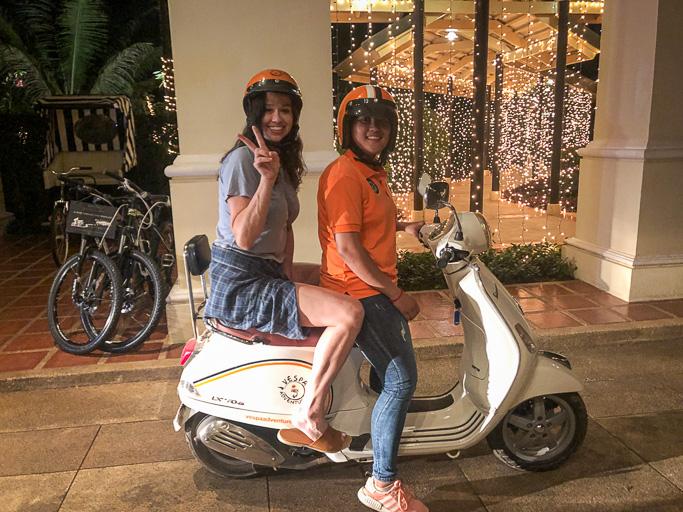 Cambodia - Skjodt Family Trip - Vespa Tour in Siem Reap @Jo Aigner