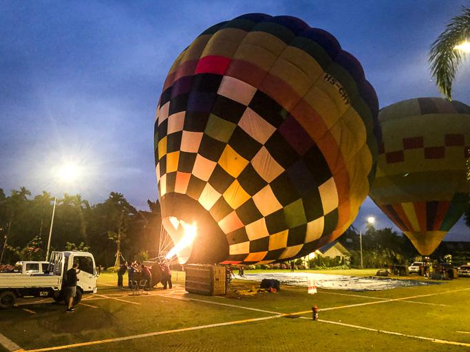 Thailand - Skjodt Family Trip - Hot Air Balloon Trip Chiang Mai @Jo Aigner