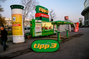 Austria - Mobile Betting Station For Sports Betting For tipp3 @Jo Aigner