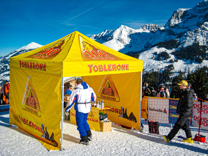 Switzerland - Toblerone Promotion Ski World Cup Race - Adelboden @Jo Aigner